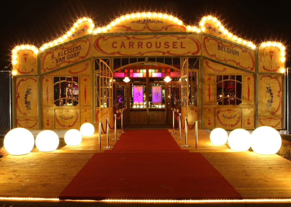 Spiegeltent Hire Circus Stardust Entertainment