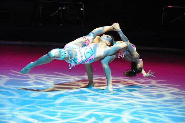 цирковые акробатические пары фото фффу